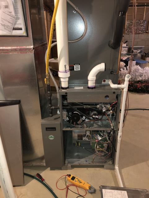 Dublin, OH - Diagnostic Service Call for 2017 Lennox furnace