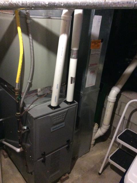 Performed Our Special Tune-Up & Safety Checkout On Comfortmaker Gas Furnace To Keep Furnace Running Efficiently For The Fall/Winter Season