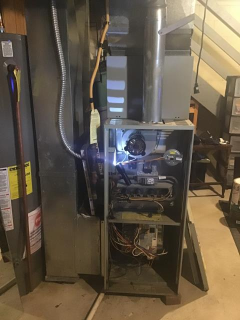 Diagnostic Performed Replaced Blower Motor On Trane Gas Furnace To Keep Furnace Running At Highest Performance For The Winter Season