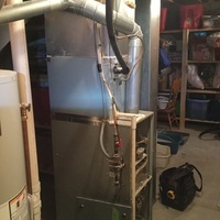 Pataskala, OH - Furnace Tune Up & Safety Inspection on Trane Furnace.