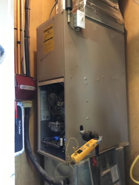 Hilliard, OH - Diagnostic Service Call on Lux Air model furnace.
