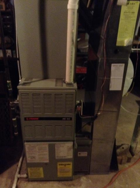 Westerville, OH - Technician diagnosed a Carrier with a leak. The technician repaired the leak and now the system is running properly and efficiently.