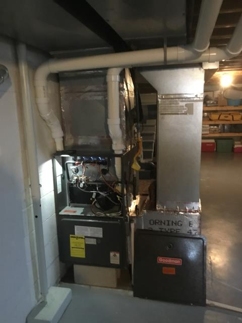 Performed complete tuneup and safety inspection on a Carrier furnace to ensure efficient operation for the winter season of 2019/2020.