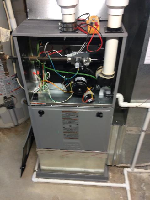 Canal Winchester, OH - Performed complete tuneup and safety inspection on a Comfortmaker furnace to ensure efficient operation for the winter season of 2019/2020.