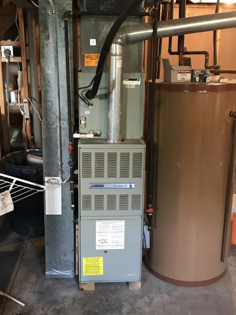 Pataskala, OH - Technician found the current thermostat that was installed with the Carrier system was not compatible with phone app function during a preventative maintenance inspection. A new thermostat was installed and now the system is running properly.