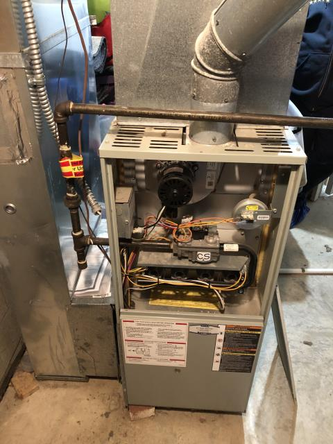 American Standard furnace was red tagged by Columbia Gas as unsafe to operate due to high CO. Technician gave an estimate on a new system.