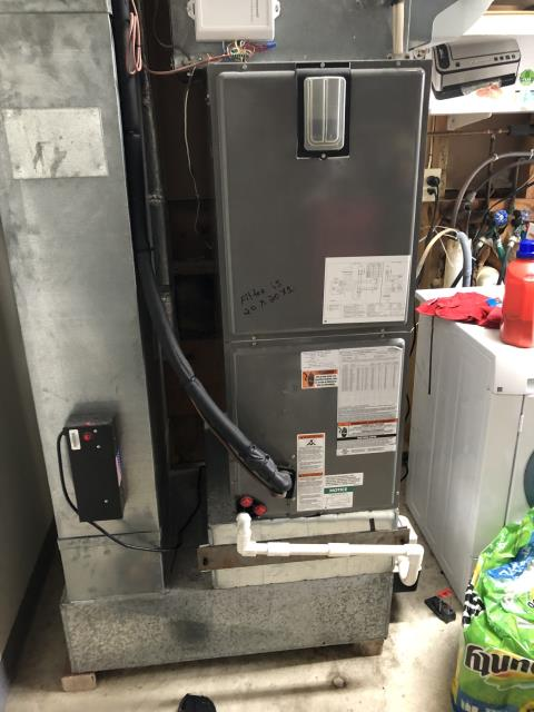 Diagnostic service performed on the Rheem Furnace unit. Confirmed that the system is working within manufacturer specifications.