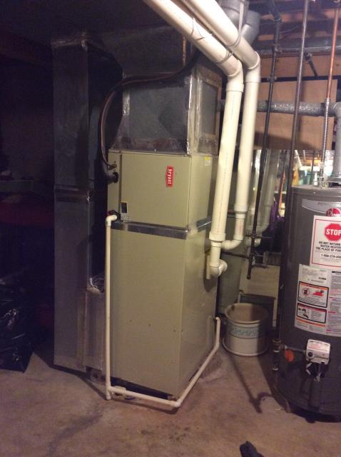 Reynoldsburg, OH - Furnace tune - up and safety check performed on a Gas Bryant furnace unit. Confirmed that the system is working within manufacturer specifications.  Pictured is the customer's Gas Bryant Furnace.