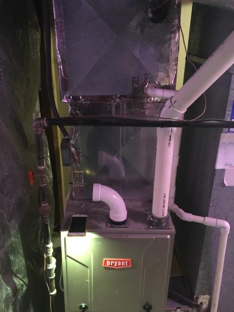 Pickerington, OH - Performed complete tuneup and safety inspection on a Bryant furnace to ensure efficient operation for the winter season of 2019/2020