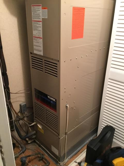 Reynoldsburg, OH - Performed complete tuneup and safety inspection on a York furnace to ensure efficient operation for the winter season of 2019/2020