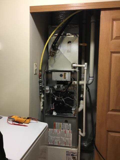 Blacklick, OH - Performed tuneup on Bryant gas furnace. All is running correctly under manufacturer's recommendations. The furnace is ready for the winter season.