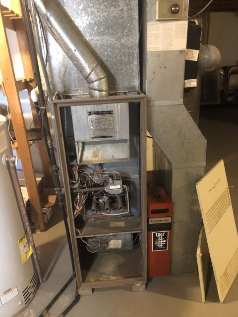 Diagnostic Performed Replaced Thermocouple On General Electric Gas Furnace To Keep Furnace Running At Highest Performance For The Winter Season