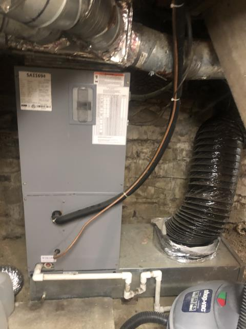 New Albany, OH - Diagnostic Performed Re-Programmed T-Stat On Armstrong Electric Furnace To Keep Furnace Running Efficiently For The Winter Season