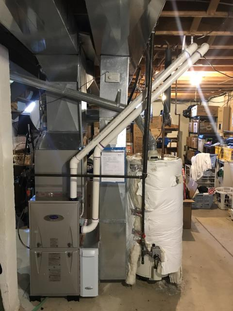 Groveport, OH - Full fall tuneup on Carrier furnace. All is working within manufacturer's guidelines. The furnace is ready to heat this winter season.