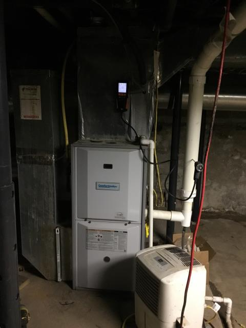 Whitehall, OH - Furnace Tune Up & Safety Inspection on 2011 Gas Comfortmaker Furnace.
