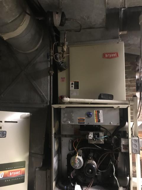 Performed Our Special Tune-Up & Safety Checkout On Carrier Gas Furnace To Keep Furnace Running At Highest Performance For The Winter Season