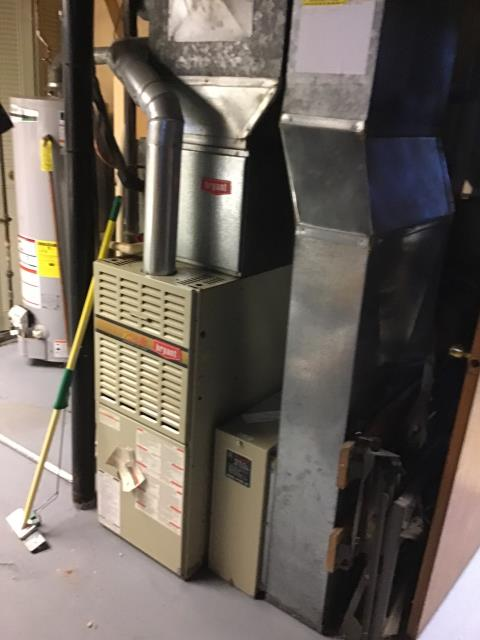 Columbus, OH - Replaced filter for customer on Bryant furnace. Customer inquired about our whole house duct cleaning service.