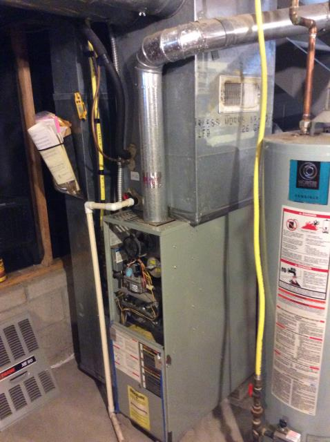 Groveport, OH - Scheduled maintenance on Trane furnace. No issues found. The system is ready to heat this winter.