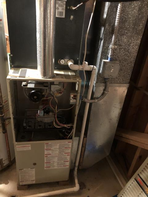 Reynoldsburg, OH - Provided New Estimate Carrier 96% 60,000 BTU Gas Furnace To Replace Bryant Gas Furnace