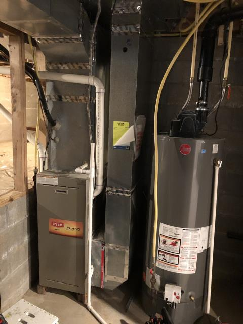Pickerington, OH - Diagnostic Performed Unclogged Condensate Drain On Bryant Gas Furnace To Keep Furnace Running Efficiently For The Winter Season