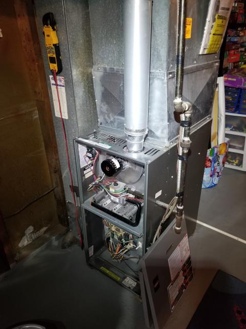 Westerville, OH - Performed tuneup and safety inspection on Weather King furnace. All checked good except the igniter that was reading outside of normal range. Gave customer quote to replace igniter. The furnace was operating as expected at departure.