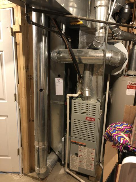Diagnostic Performed Cleaned Flame Sensor on Bryant Gas Furnace To Keep Furnace Running Efficiently For The Winter Season