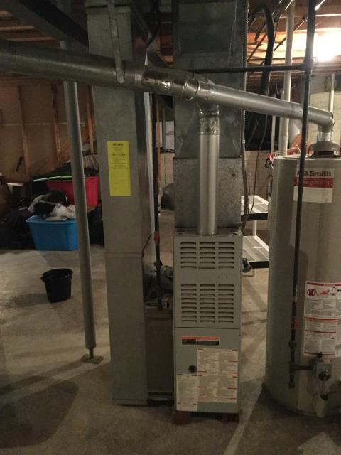 Groveport, OH - Performed Our Special Tune-Up & Safety Checkout On Bryant Gas Furnace To Keep Furnace Running Efficiently For The Winter Season