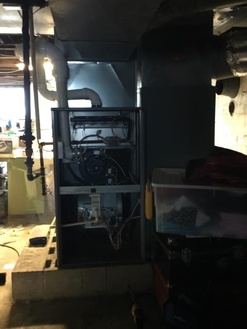 Bremen, OH - Diagnostic Performed Replaced Inducer Motor On Comfortmaker Gas Furnace To Keep Furnace Running At Highest Performance For The Winter Season