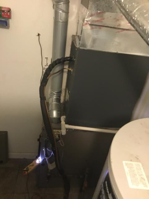 Millersport, OH - Diagnostic Performed Installed New Redlink Gateway and VisionPro 8000 Thermostat On Coleman Gas Furnace To Keep Furnace Running Efficiently For The Winter Season