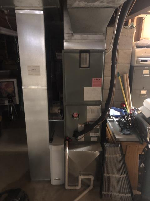Whitehall, OH - Diagnostic Performed Engaged Cooling Mode & Pulled Fan Lead On Rheem Gas Furnace To Keep Furnace Running At Highest Performance For The Winter Season