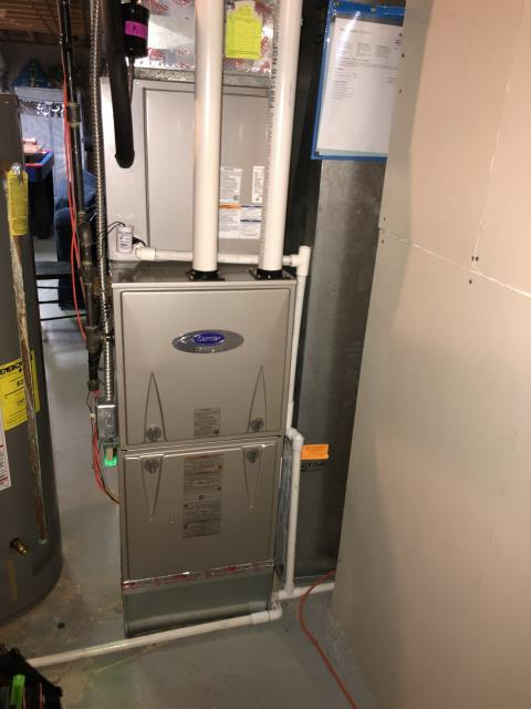 Hilliard, OH - I was able to replaced the thermostat and the circuit board on a Carrier Furnace to get the un it back up and running.