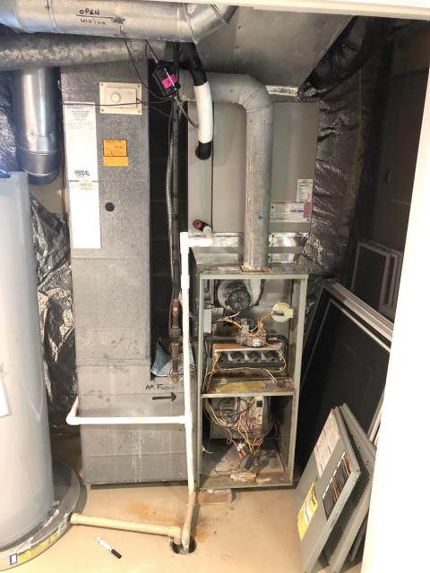 New Albany, OH - Diagnostic Performed Replaced OEM Main Circuit Board On Trane Gas Furnace To Keep Furnace Running Efficiently For The Winter Season