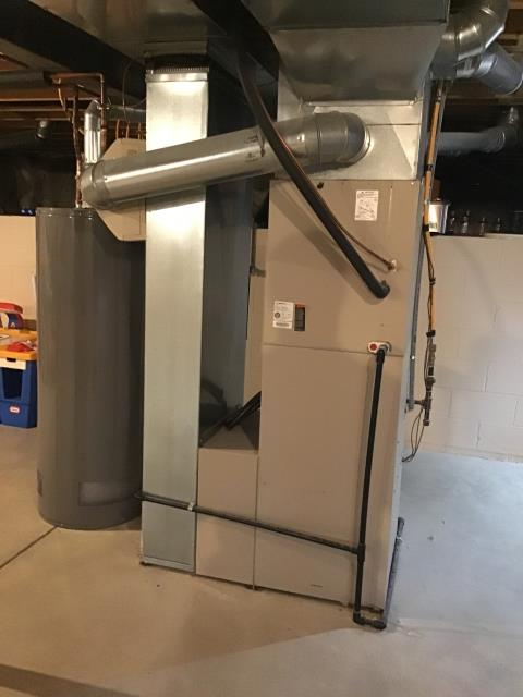 Pataskala, OH - Performed Our Special Tune-Up & Safety Checkout On a Carrier  Gas Furnace To Keep Furnace Running At Highest Performance For The Winter Season