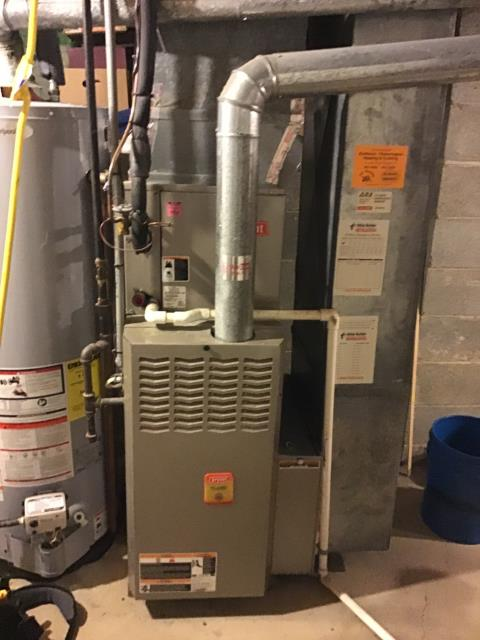 New Albany, OH - Performed Our Special Tune-Up & Safety Checkout On a Bryant Gas Furnace To Keep Furnace Running At Highest Performance For The Winter Season