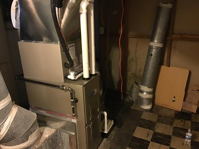 Upper Arlington, OH - Diagnostic Performed Installed New HONEYWELL 8000 TO CONTROL HUMIDIFIER On Carrier Gas Furnace To Keep Furnace Running At Highest Performance for The Winter Season