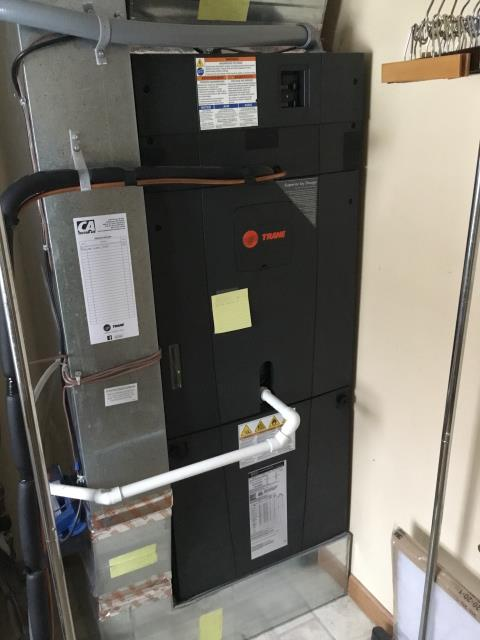 Pataskala, OH - Performed Our Special Tune-Up & Safety Checkout On a Trane  Gas Furnace To Keep Furnace Running At Highest Performance For The Winter Season