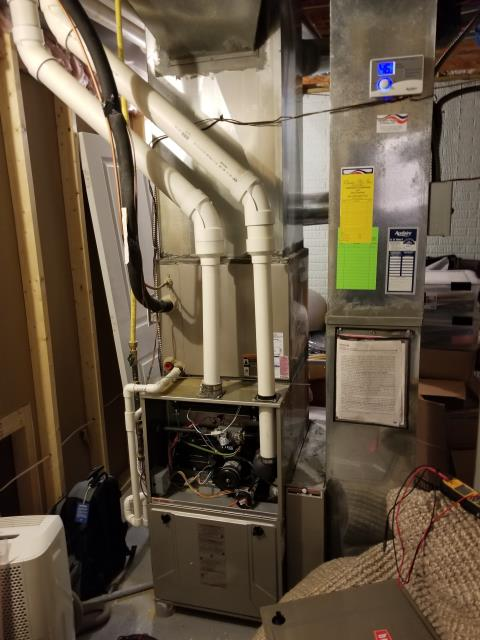 New Albany, OH - I performed Our Special Tune-Up & Safety Checkout On a Bryant Furnace To Keep Furnace Running At Highest Performance For The Winter Season