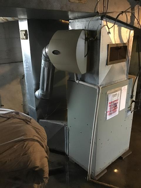 Columbus, OH - I installed a new Carrier 96% Two-Stage 60,000 BTU Gas Furnace