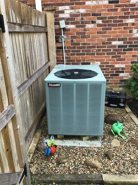 Reynoldsburg, OH - Wear mask and gloves and keep activity in the home to a minimum, I Performed A/C tune-up on a 2008 RUUD Heat Pump . System is now running a peak performance.