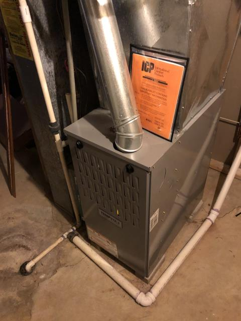 Dublin, OH - I Replaced the OEM Condenser Fan Motor and Capacitor on a 2005 Lennox Furnace
