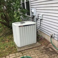 Hilliard, OH - New A/C & furnace quote provided to replace a Trane HVAC System with a Carrier System. One year maintenance agreement included with system warranty.