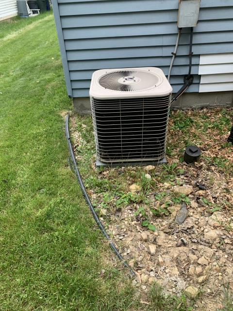 Westerville, OH - 2001 Lennox System would get call from thermostat and contactor would pull in but nothing would come on. A/C not receiving high voltage. While taking apart disconnect unit started running. Found loose connection. Tightened. Cycled system on multiple times could not get system to show same problems. System a little under charged but cooling home.