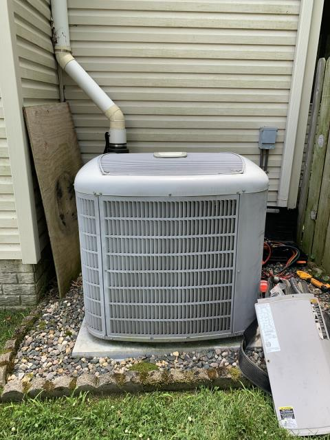 Gahanna, OH - Replaced motor surge capacitor on AC. System cooling properly at departure.
