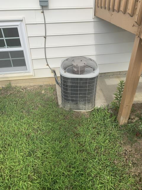 New Albany, OH - Provided an estimate to install Carrier furnace and AC to replace current Bryant system. Pictured below is the current Bryant AC.