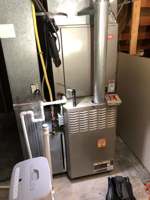 Canal Winchester, OH - I am Performing our Five Star Tune-Up & Safety Check on a  2020 Carrier Gas Furnace. All readings were within manufacturer's specifications, unit operating properly at this time.