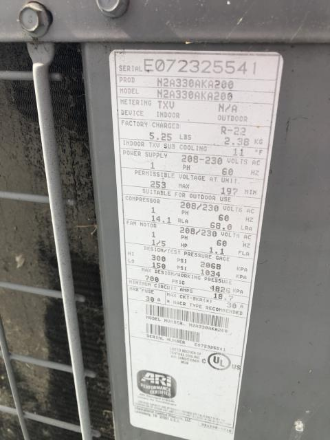 Canal Winchester, OH - I am Performing our Five Star Tune-Up & Safety Check on a 2007 Comfortmaker  Gas Furnace. All readings were within manufacturer's specifications, unit operating properly at this time.
