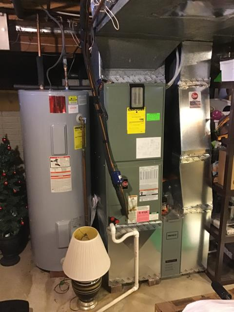 Reynoldsburg, OH - I am Performing our Five Star Tune-Up & Safety Check on a  2009 Electric  Furnace. All readings were within manufacturer's specifications, unit operating properly at this time.