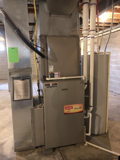 New Albany, OH - I am Performing our Five Star Tune-Up & Safety Check on a  2010 Bryant  Gas Furnace.  All readings were within manufacturer's specifications, unit operating properly at this time.