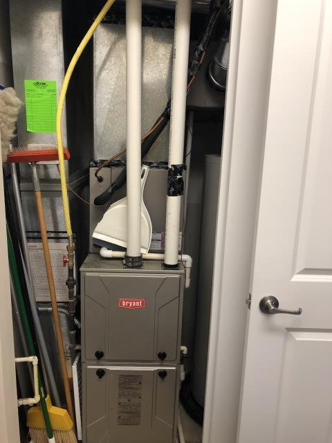 Hilliard, OH - I am Performing our Five Star Tune-Up & Safety Check on a  2012 Bryant Gas Furnace.  All readings were within manufacturer's specifications, unit operating properly at this time.