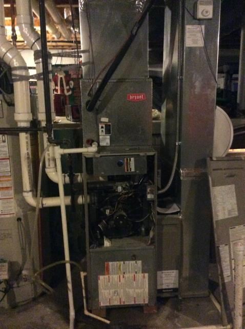 Pataskala, OH - I found that the inducer motor was vibrating so I tightened down all screws and connections. Noise was reduced from inducer vibration and furnace is operating properly at this time.